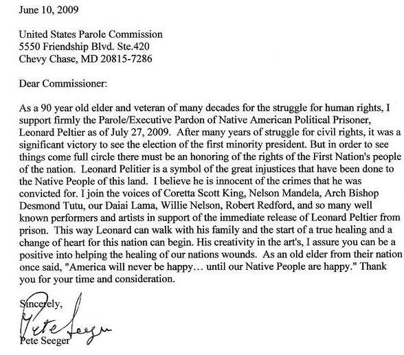 Statements of Support | International Leonard Peltier Defense ...