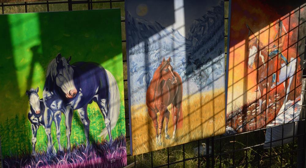 Sovereign Imagination: The Art ofLeonard Peltier
