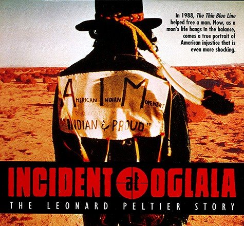 "Olympia, WA:  ""Incident at Oglala"" on 26 February"