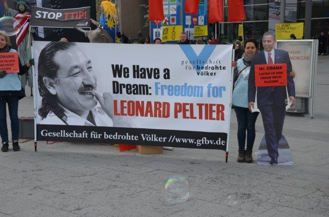 "Germany to Obama: ""Pardon Leonard Peltier"""