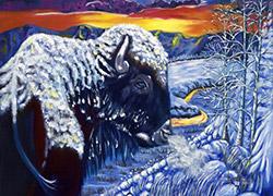 Looks Back Buffalo