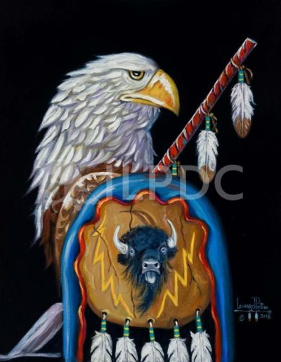 Lone Warrior Eagle
